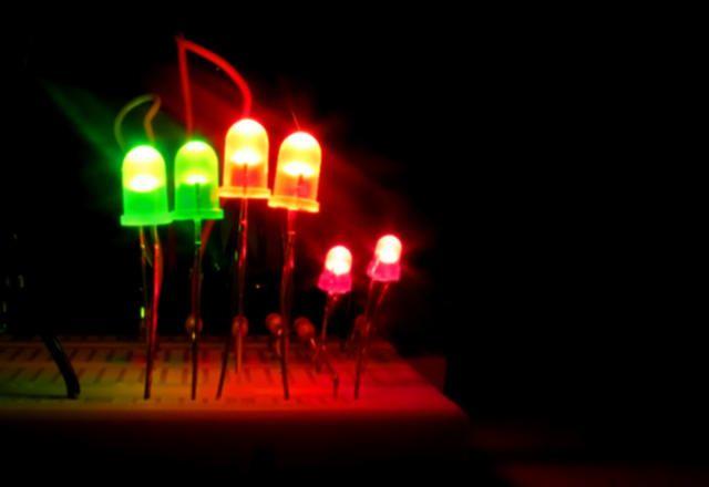 Funcionamiento Diodos LED