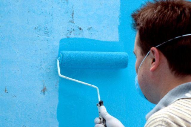Pintando con pintura epóxica