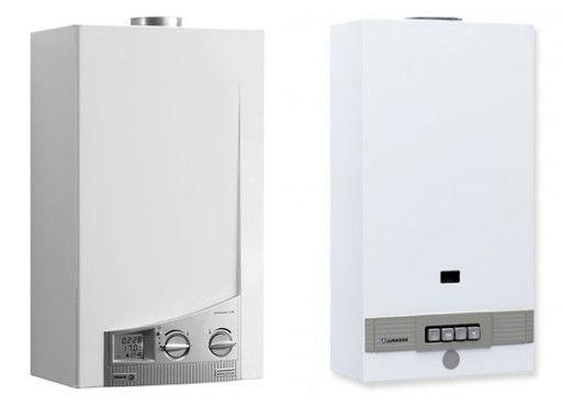 Calentadores de gas - Eléctrico y manual