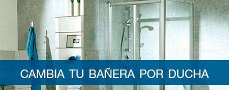 Cambia tu bañera por ducha