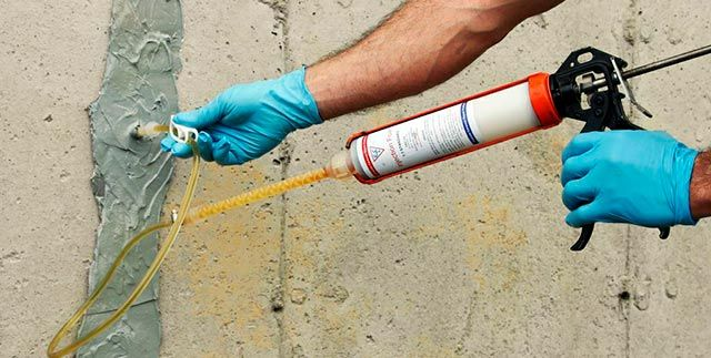 Reparar grietas exteriores
